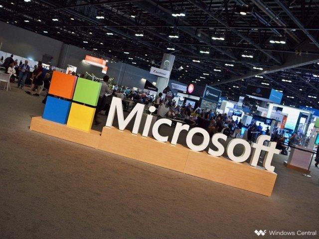 Microsoft Logo at Ignite