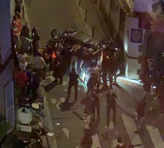 Une voiture a percuté une terrasse du 17ème arrondissement de Paris, jeudi 29 juillet 2021, tuant une femme et faisant six blessés.