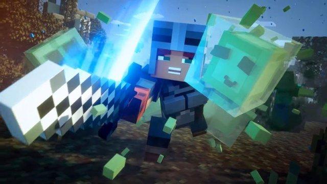 Minecraft Dungeons Combat
