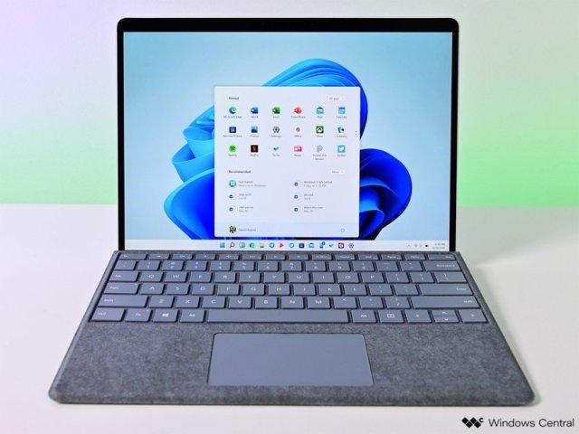 Winodws 11 Start Surfaceprox