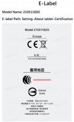 Xiaomi Mi Pad 5 FCC certification