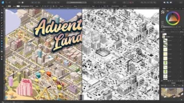 110 affinity designer outline view