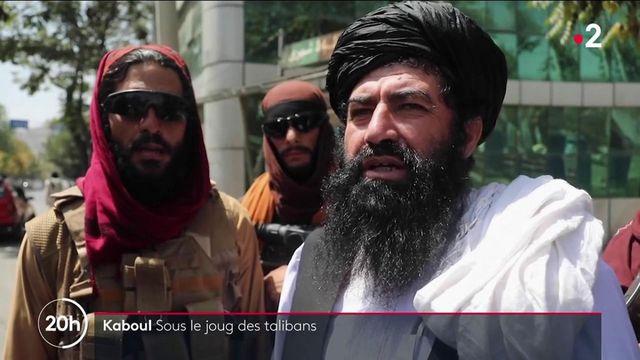 Afghanistan : Kaboul sous le joug des talibans