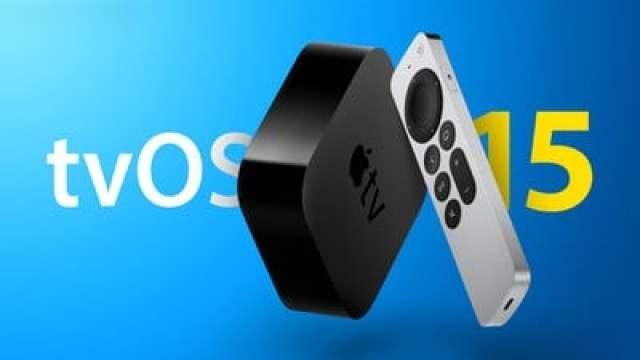Apple TV tvOS 15 Feature