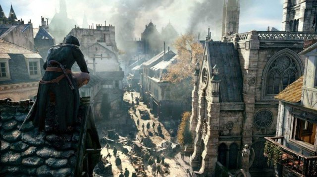 Assassins Creed Unity Arno Rooftops