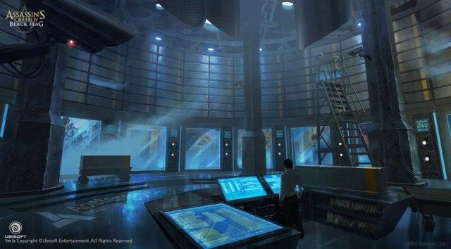 Assassins Creed Black Flag Abstergo Concept