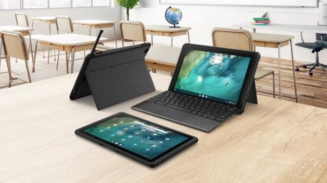 Asus Chromebook Detachable CZ1 pairs MediaTek Kompanio SoC with rugged casing