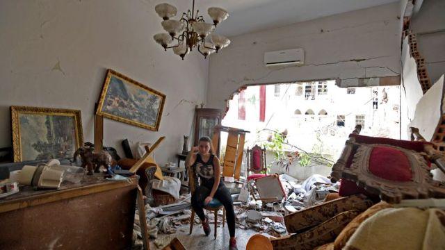 """""""On ne peut pas reconstruire une ville si on a pas vu pourquoi on est arrivé là"""", estime l'architecte-urbaniste libanais Youssef Tohmé. (AFP)"""