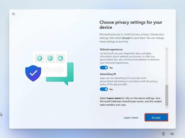 Windows 11 privacy settings