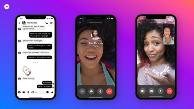 Facebook Messenger updated with end-to-end encrypted voice and video calls