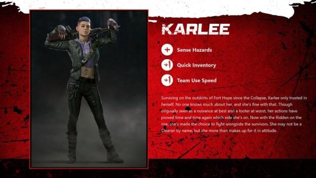 Back 4 Blood Karlee