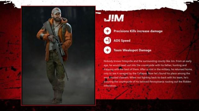 Back 4 Blood Jim