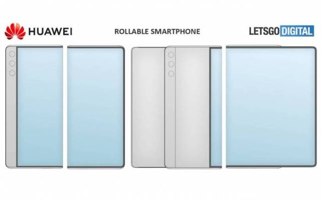 Huawei Rollable Phone