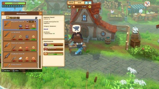 Kitaria Fables Screenshot Image