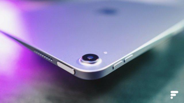Le châssis en aluminium de l'iPad Air 2020