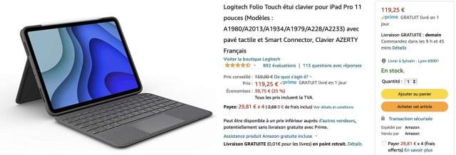 Folio Touch iPad Pro Amazon