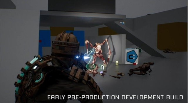 Dead Space Remake Early Dimemberment