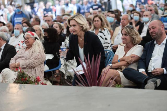 Valérie Pécresse fait sa rentrée politique à Brive-la-Gaillarde le 28 août 2021