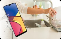 The Galaxy A21 Simple is rated IP68/IPX5
