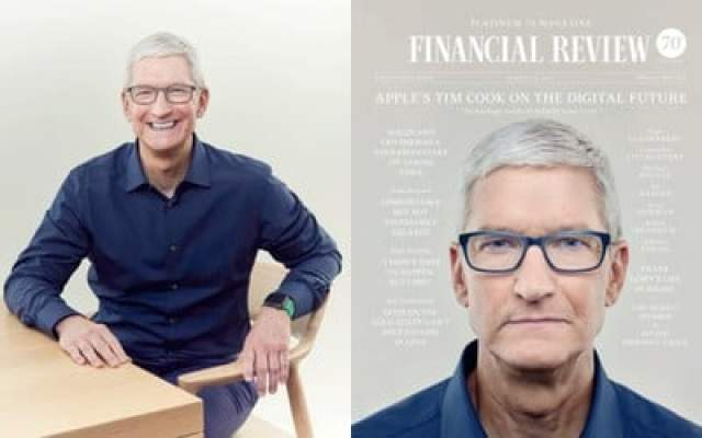 tim cook afr cover interview
