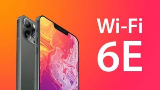 iPhone 13 Wi Fi 6E feature update