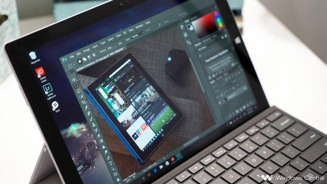 Photoshop on Surface