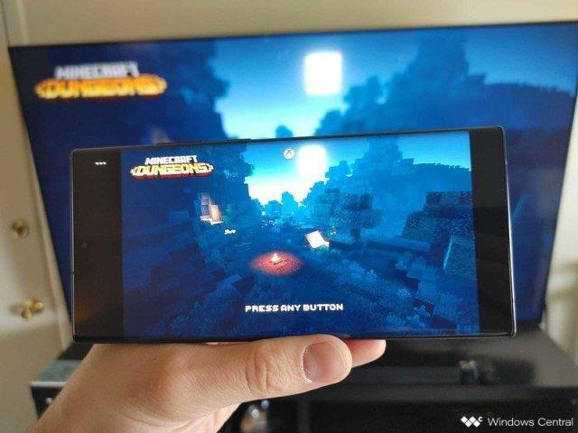 Minecraft Dungeons Xbox Cloud Gaming Hero