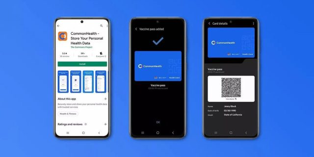 Samsung Pay COVID-19 Vaccination Record