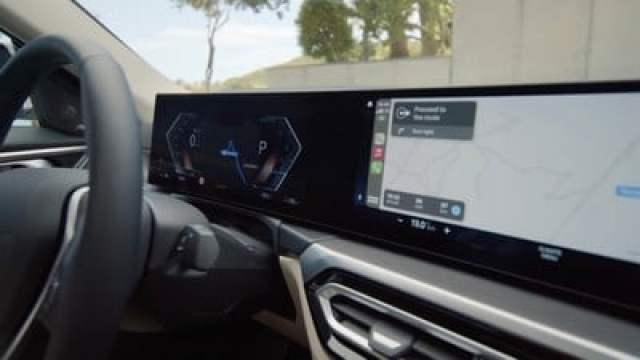 bmw i4 carplay second display
