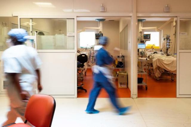 Le centre hospitalier universitaire de Pointe-à-Pitre, le 3 septembre 2021.