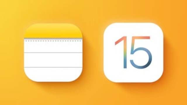 iOS 15 Notes Feature