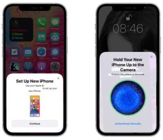 set up iphone 13