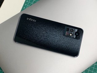 Photos of an upcoming Infinix phone with a 108 MP main camera and a 5x periscope