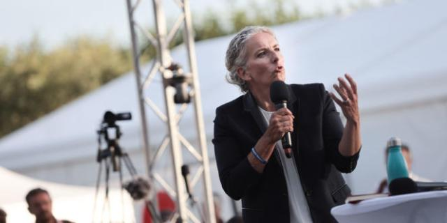 Delphine Batho, aux journées d'été écologistes de Poitiers, le 20 août 2021.