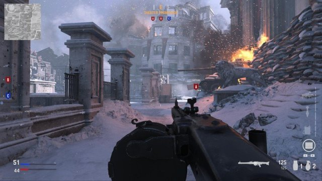Call Of Duty Vanguard Multiplayer Preview Beta Snow