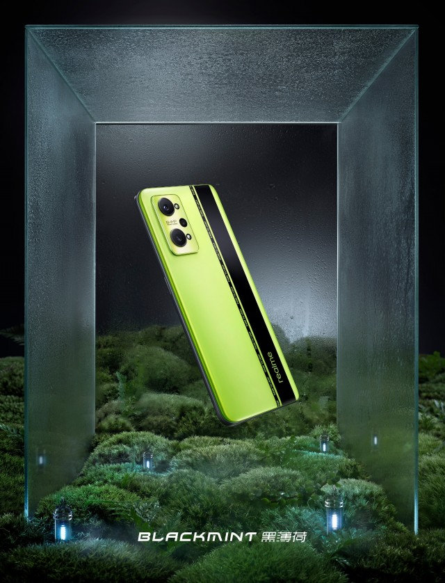 Realme GT Neo2 Black Mint version