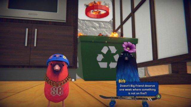 SkateBIRD Screenshot