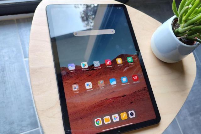 test Xiaomi Pad 5 ecran
