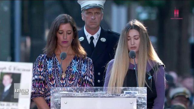 Lecture des noms des victimes