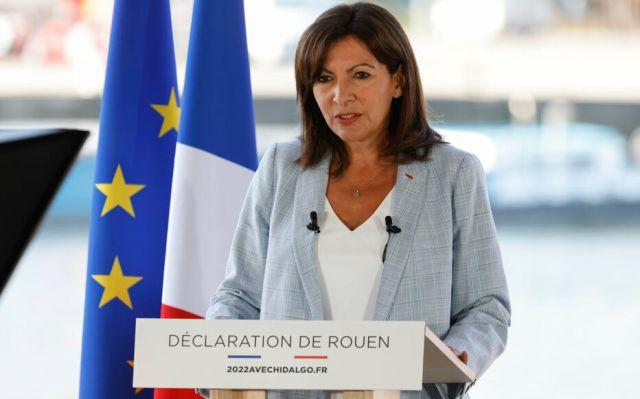 Anne Hidalgo, qui s'était pourtant engagée à ne pas se présenter à la présidentielle 2022, s'est déclarée candidate à Rouen ce dimanche 12 août. LP/Olivier Corsan