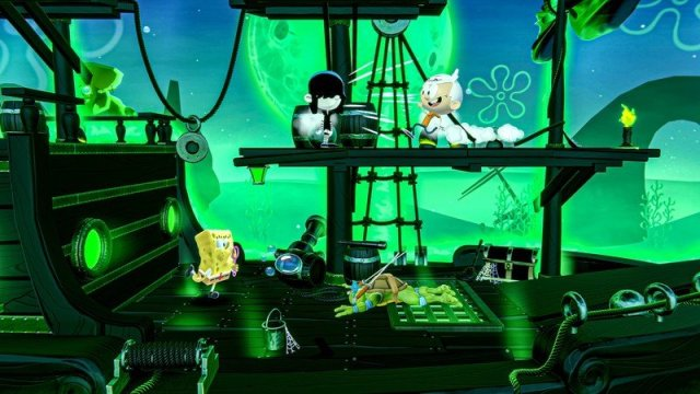Nickelodeon All Star Brawl Flying Dutchman