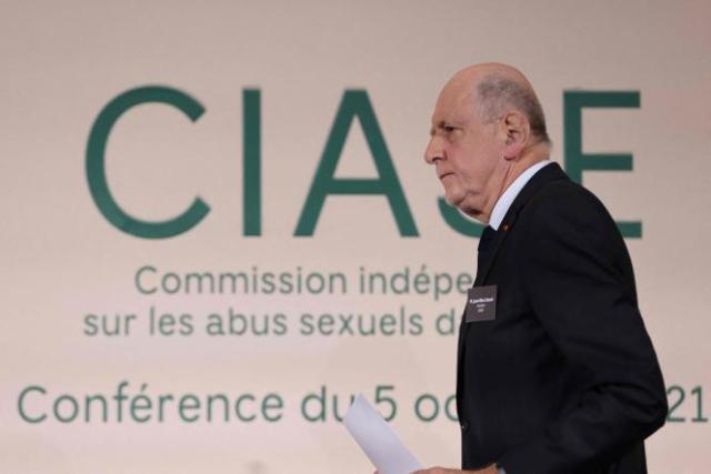 Jean-Marc Sauvé,le président de la commission indépendante sur les abus sexuels commis par des responsables ecclésiastiques (Ciase), lors de la publication du rapport de la commission, le 5 octobre, à Paris.