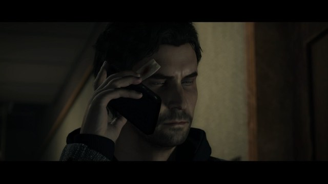 Alan Wake Remastered Cutscene Phone