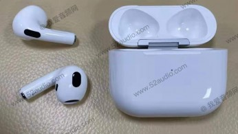 AirPods 3 leaked design (images: Weibo)