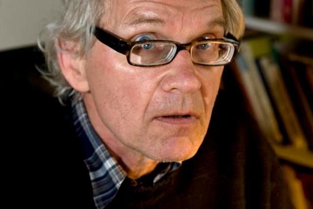Lars Vilks, le 16 mai 2010, chez lui près de Hoganas en Suède.