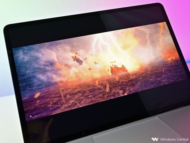 Surface Laptop Studio Dolbyvision Hdr