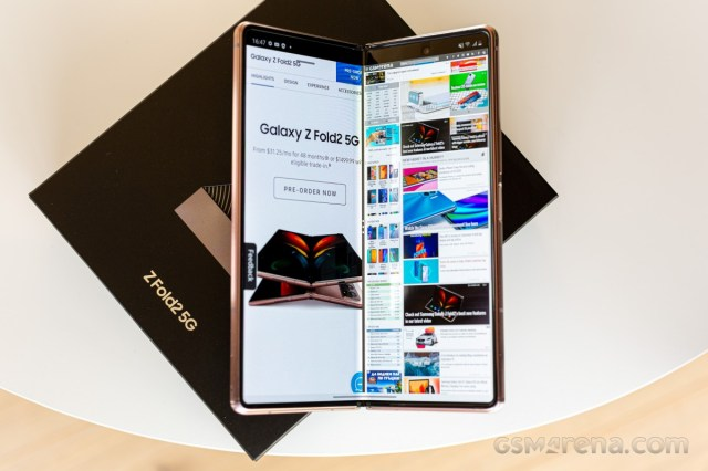 Samsung Galaxy Z Fold2 gets October 2021 Android security patch with the latest update