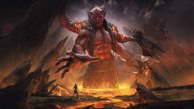 Elder Scrolls Online Deadlands Key Art