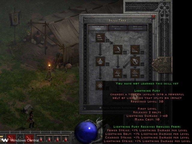 Diablo 2 Resurrected Amazon Javspear