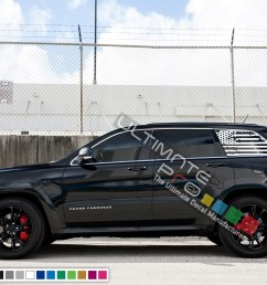 destorder us flag decals rear window decal sticker vinyl american flag kit compatible with jeep grand cherokee 2011 2017 [ 2000 x 1303 Pixel ]